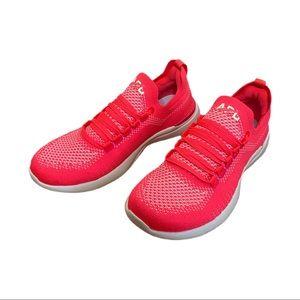 APL Neon Pink Techloom Breeze Activewear Sneakers